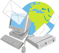 Email 'round the World